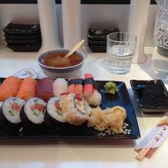 Photo taken at Super Sushi by Vadim Z. on 9/7/2012