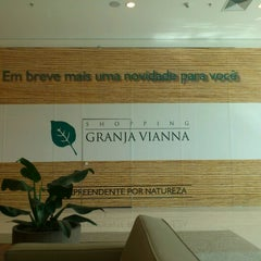 Photo taken at Shopping Granja Vianna by Hélio S. on 7/3/2012