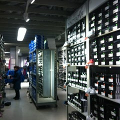 Photo taken at Adidas Factory Outlet by Yuri N. on 12/19/2011