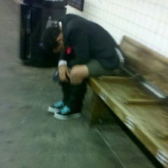 Photo taken at MTA Subway - 3rd Ave (L) by Murray S. on 9/7/2012
