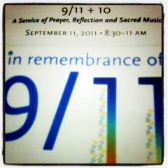 Photo taken at Fifth Avenue Presbyterian Church by Evonne S. on 9/11/2011