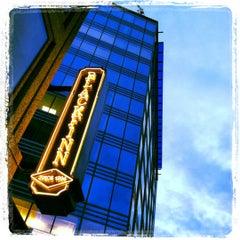 Photo taken at BlackFinn American Saloon by Francis L. on 7/14/2012