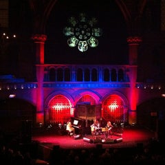 Photo taken at Union Chapel by Kaz P. on 1/30/2012
