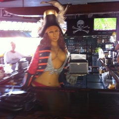 Photo taken at The Pirate Republic Seafood & Grill by Lisa B. on 9/17/2011