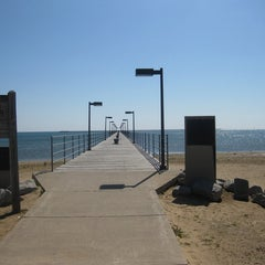 Photo taken at City of Harbor Beach by Angi M. on 1/21/2011