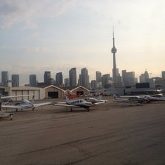 Photo taken at Billy Bishop Toronto City Airport (YTZ) by Dale W. on 7/13/2012