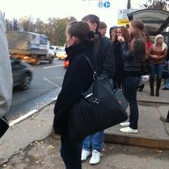 Photo taken at Medisinski Bus Stop by Amir Hamzah H. on 10/14/2011