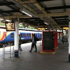 Photo taken at Twickenham Railway Station (TWI) by Adrian L. on 5/18/2011