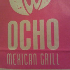 Photo taken at Ocho Mexican Grill by Derek B M. on 10/4/2011