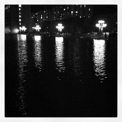 Photo taken at Christian Science Plaza by Peter H. on 11/5/2011