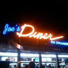 Photo taken at Joe's Diner on Sycamore by Sophie P. on 7/2/2011