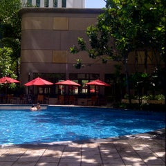 Photo taken at Pool · The Westin Kuala Lumpur 吉隆坡威斯汀酒店 by Norliana R. on 1/22/2012