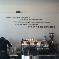 Photo taken at Big Shoulders Coffee by Kate B. on 6/8/2012