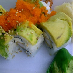 Photo taken at Newport Fusion Sushi by Gaby E. on 8/1/2012