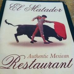 Photo taken at El Matador by Piedad-Christina S. on 5/19/2012