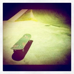 Photo taken at AB Skatepark by Atmospheric™ I. on 8/14/2011