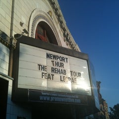 Photo taken at Newport Music Hall by Jerry Moyer T. on 10/6/2011