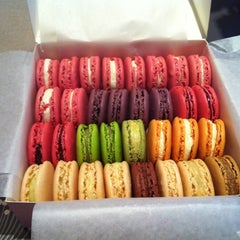 Photo taken at Ladurée by Anna G. on 9/1/2011