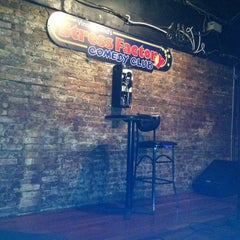 Photo taken at Stress Factory Comedy Club by Megan K. on 8/25/2011