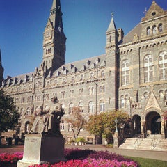 Photo taken at Georgetown University by Grant B. on 8/29/2012