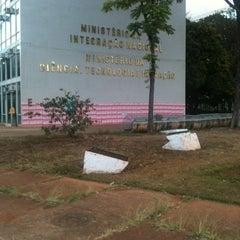 Photo taken at Ministério da Ciência, Tecnologia e Inovação by Renato C. on 7/16/2012