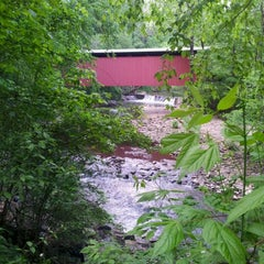 Photo taken at Wissahickon Valley Park by Jessica S. on 5/13/2012