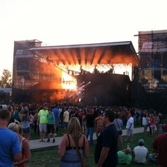 Photo taken at The Farm Bureau Insurance Lawn VIP Terrace by Ryan M. on 8/15/2012