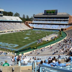 Photo taken at Kenan Memorial Stadium by Chris S. on 4/14/2012