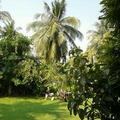 Photo taken at Takolaburi Cultural and Spa Resort by Swen F. on 2/15/2012