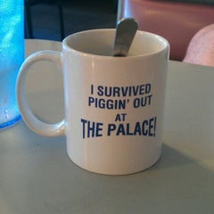 Photo taken at Pig Out Palace by Kylie S. on 3/26/2012