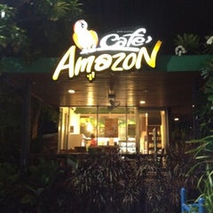 Photo taken at Café Amazon (คาเฟ่ อเมซอน) by Piyaporn A. on 7/28/2012