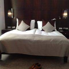 Photo taken at The Mark Luxury Hotel Prague by Kittisak E. on 4/18/2012