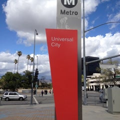 Photo taken at Universal City Metro Station by Alejandro R. on 3/18/2012