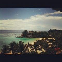 Photo taken at Shangri-La Boracay Resort and Spa by Joseph O. on 9/9/2012