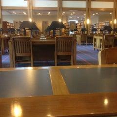 Photo taken at Biblioteca by Christopher O. on 4/3/2012