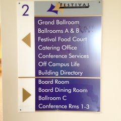 Photo taken at Festival Conference & Student Center by Eric D. on 8/25/2012
