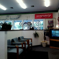 Photo taken at Precision Tire by Justin C. on 7/23/2012