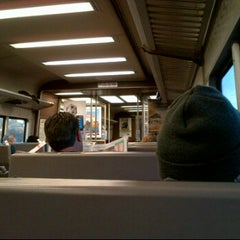 Photo taken at LIRR - Nassau Blvd Station by Butch V. on 4/5/2012
