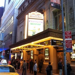 Photo taken at Longacre Theatre by Michael B. on 5/12/2012