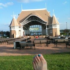 Photo taken at Lake Harriet Band Shell by Karin B. on 7/19/2012