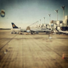 Photo taken at Terminal 2 by Arne H. on 8/20/2012