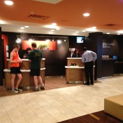 Photo taken at Courtyard Marriott by Jack P. on 5/29/2012