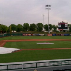 Photo taken at Scottsdale Stadium by Thomas T. on 4/8/2011