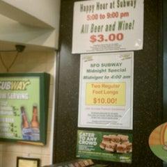 Photo taken at Subway by Kieta W. on 1/28/2012