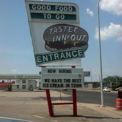 Photo taken at Tastee Inn & Out by Rick S. on 7/14/2012