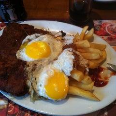 Photo taken at Bariloche Restaurant by Rodrigo I. on 5/25/2012
