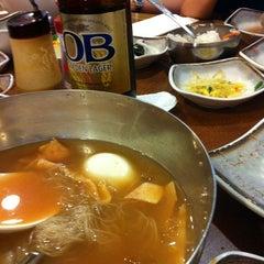Photo taken at Korean Spring BBQ by Mikihiro S. on 8/27/2012