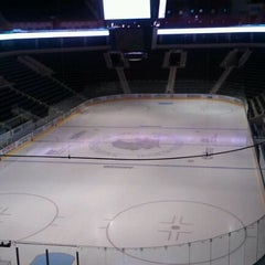 Photo taken at Ralph Engelstad Arena by Becca P. on 11/16/2011