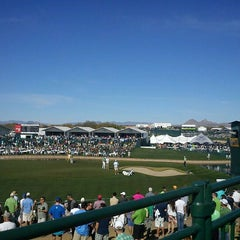 Photo taken at TPC Scottsdale by Pete A. on 2/4/2012
