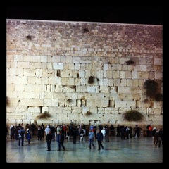 Photo taken at Western Wall (הכותל) by Rachel C. on 11/9/2011